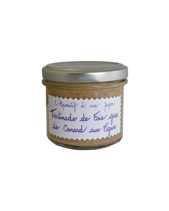 Tartinade de Foie Gras aux Figues 100g