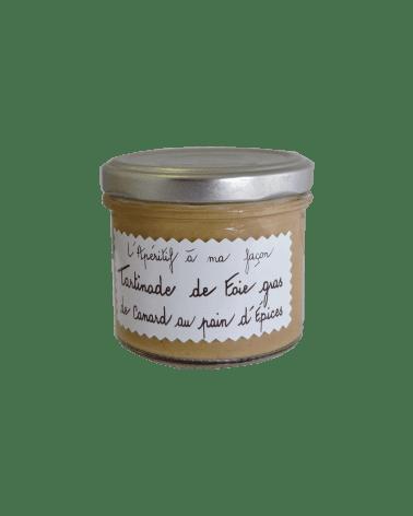 Tartinade de Foie Gras au Pain d'épices 100g
