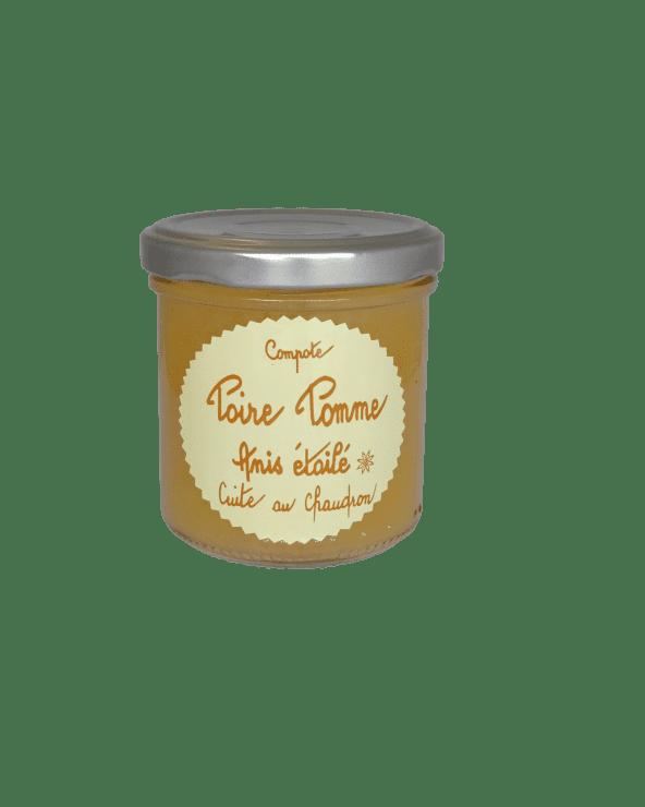 Compote Poire Pomme Anis étoilé 150g