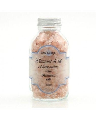 Diamant de sel cristaux nature 315g