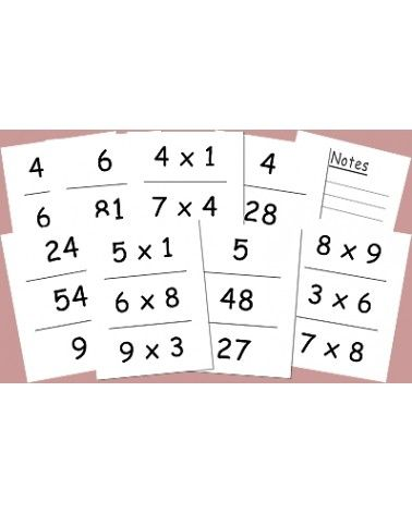 J'apprends la Table de Multiplication
