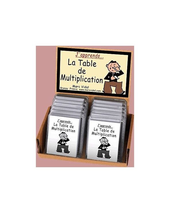 J'apprends la Table de Multiplication