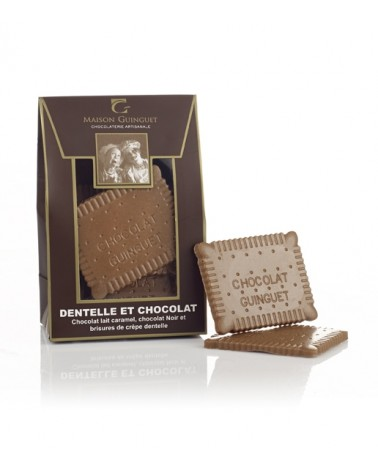 Biscuits Dentelle et Chocolat 120g