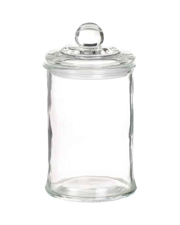Bonbonnière en verre modèle moyen