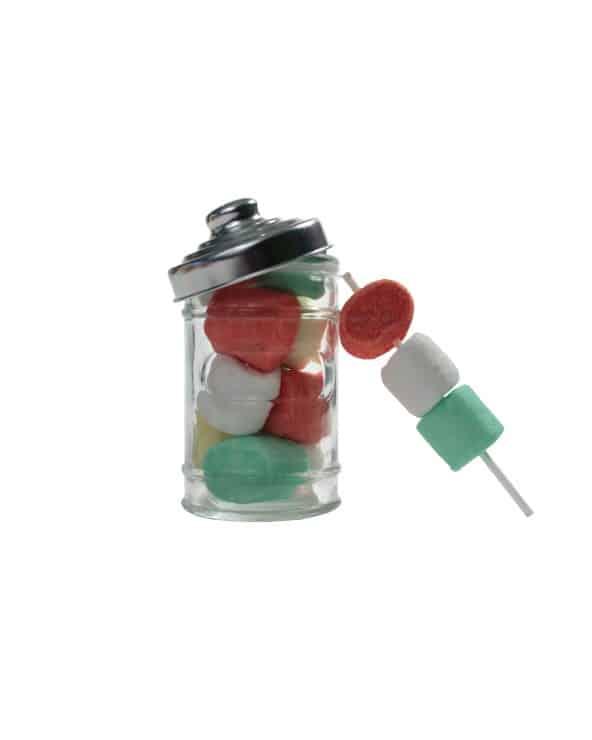 Mini Bonbonnière Guimauves Colorées 50g