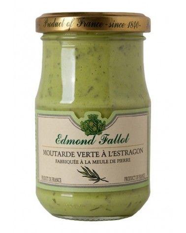 Moutarde Verte à l'Estragon 210g