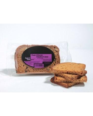 Pain d'épices Figues et Noix Spécial Foie gras 85g