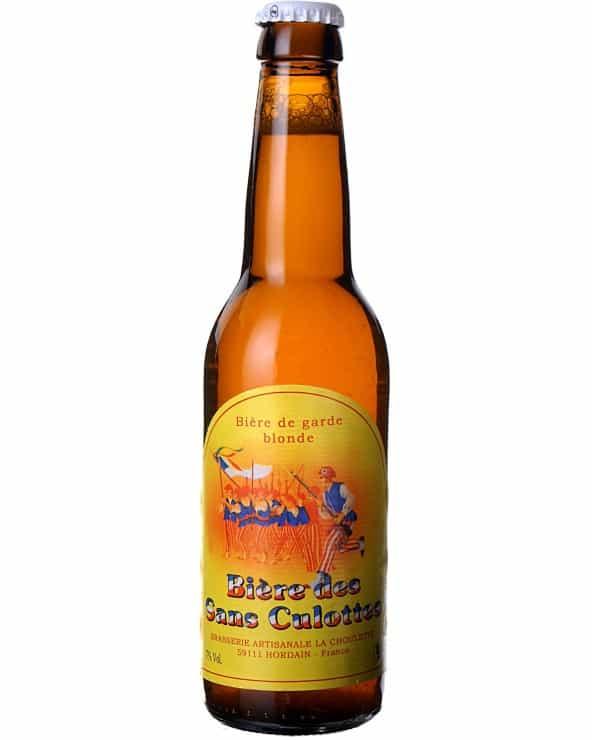Bière blonde des Sans Culottes 33cl
