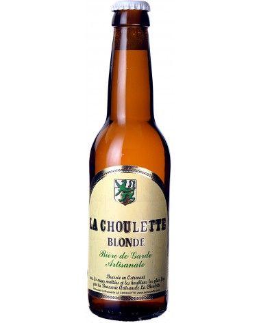 Bière blonde La Choulette 33cl