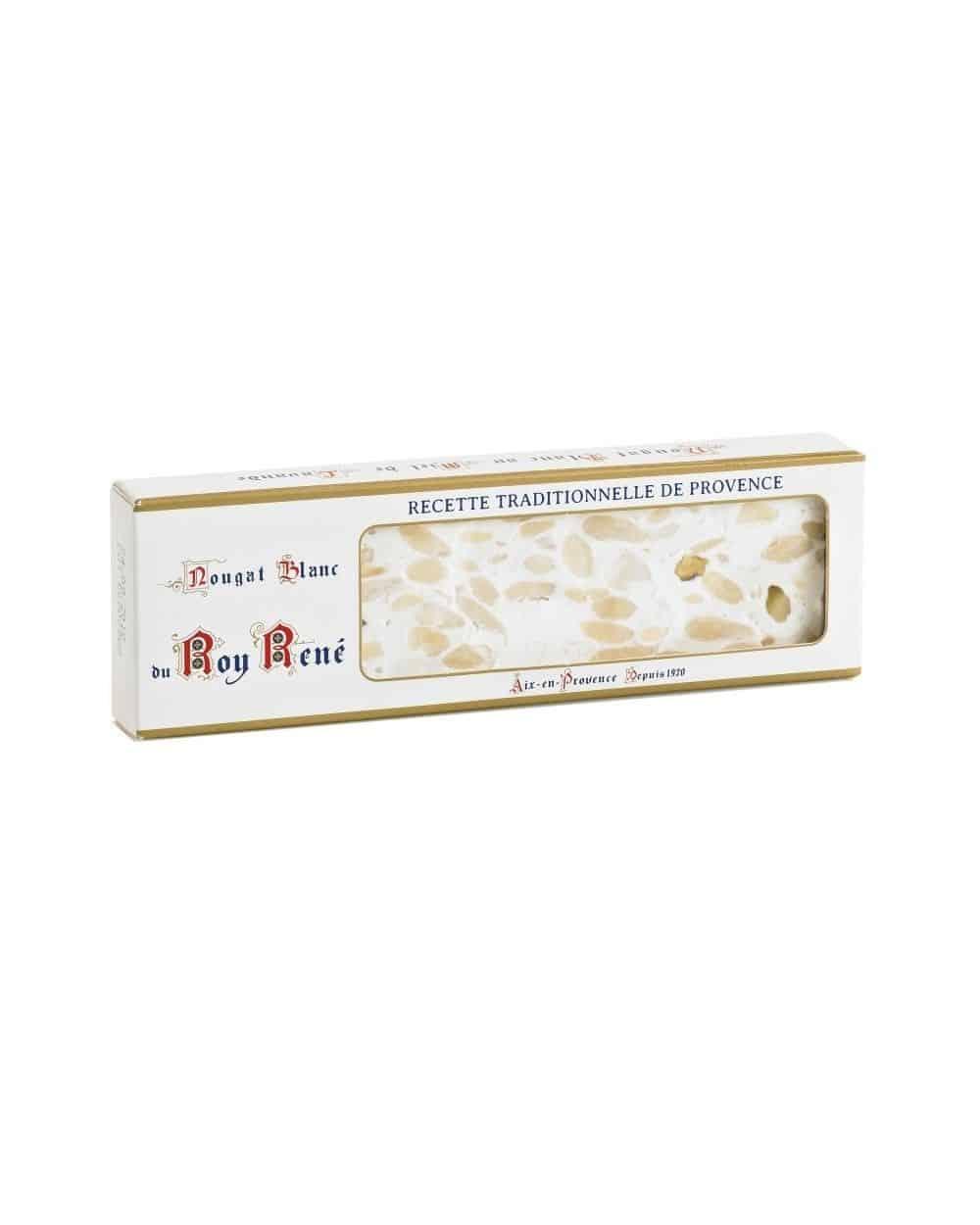 Nougat Blanc en barre 100g