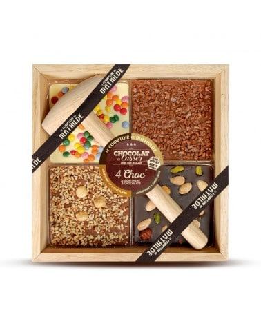 Chocolat à Casser 4 Choc' 400g