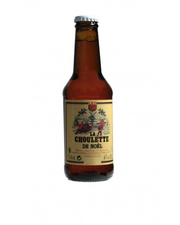 Bière Ambrée La Choulette de Noël 25cl