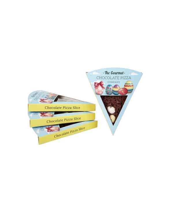 Part de Pizza Chocolat Oeufs de Pâques 50g
