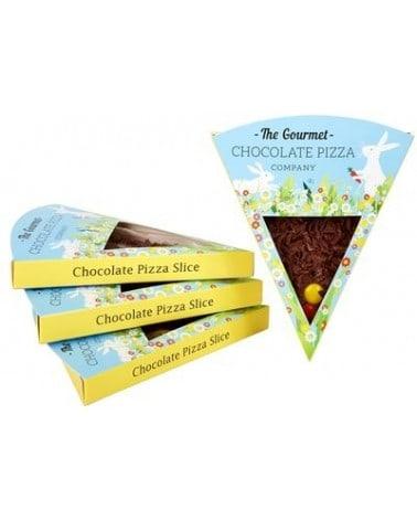 Part de Pizza Chocolat Fleurs de Pâques 50g