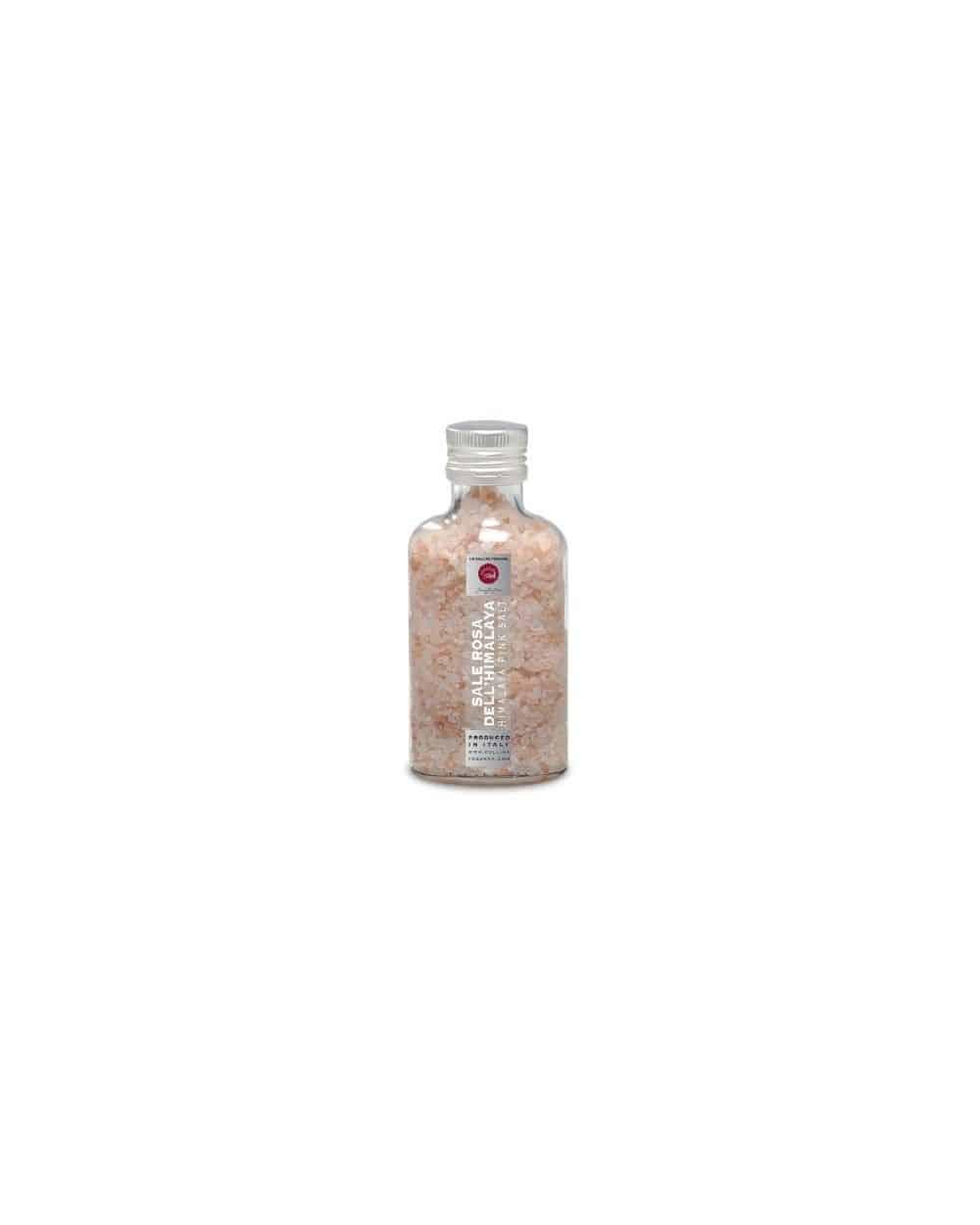 Moulin et pot en verre de sel rose de l'Himalaya 270g