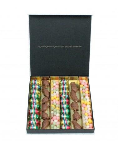 Etui de chocolats pour Pâques