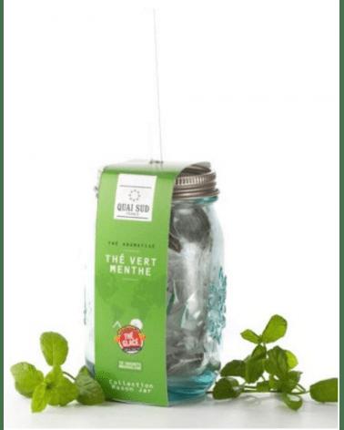 Thé vert glacé aromatisé, Quai Sud (Menthe)