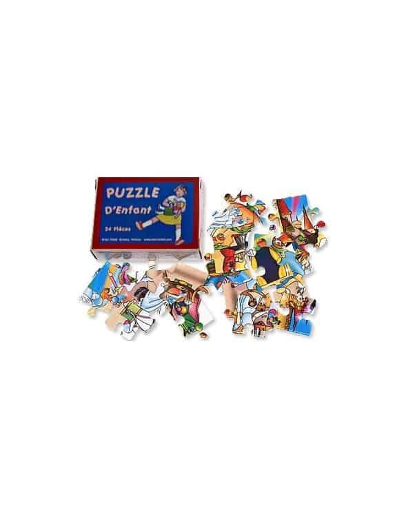 Puzzle d'enfant 24 pièces