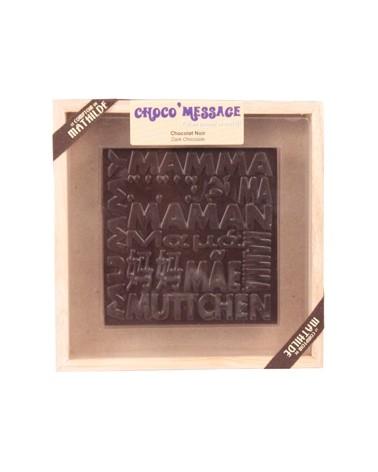 Coffret Chocolat noir Maman 200g