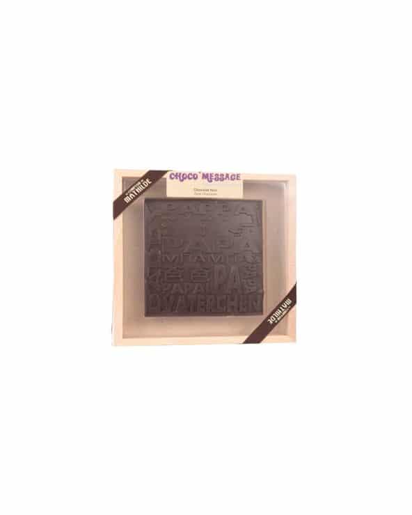 Coffret Chocolat noir Papa 200g