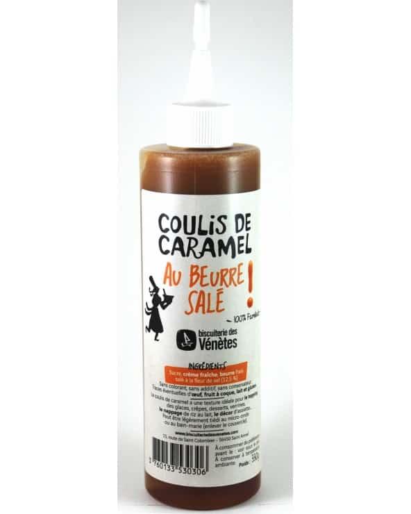 Kar'Armel Coulis de Caramel au beurre salé 330g