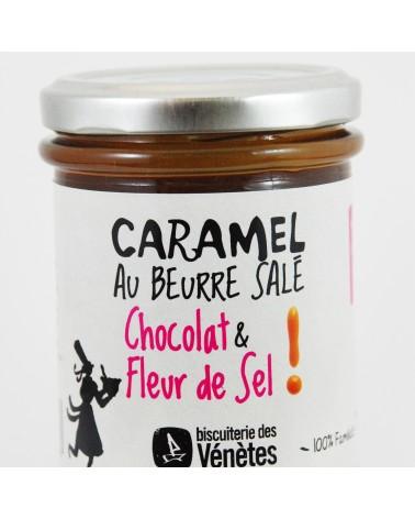 Crème de Kar'Amel au beurre salé au chocolat et fleur de sel 200g