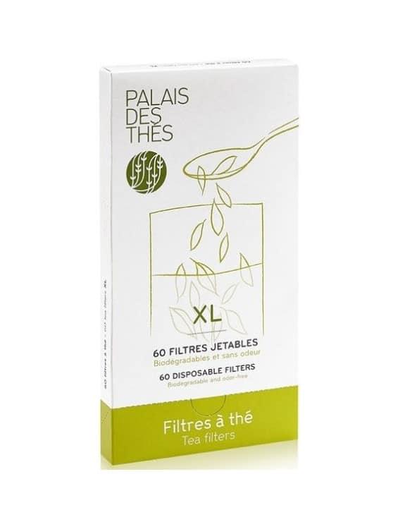 Boite 50 filtres à thé XL