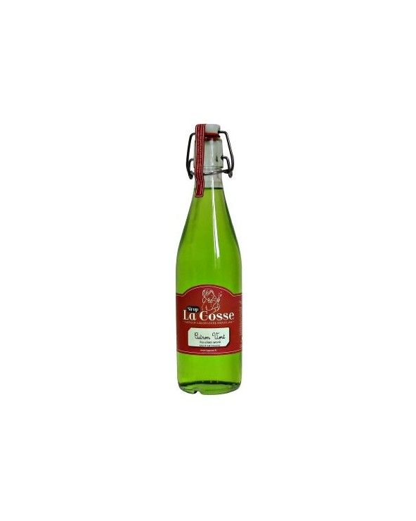 Sirop au citron vert 50cl