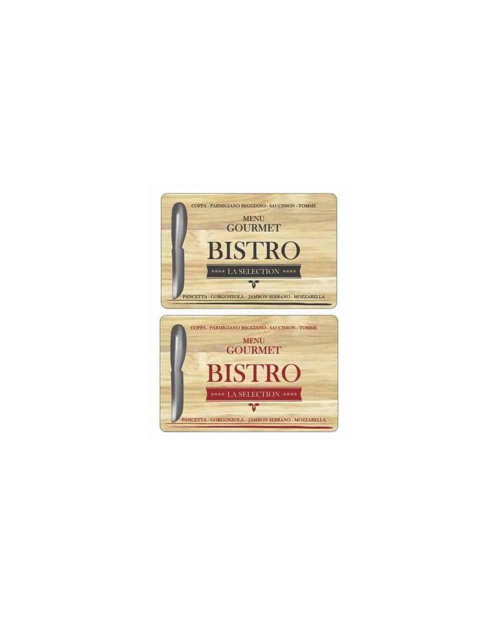 Planche à fromage en bois & Couteau
