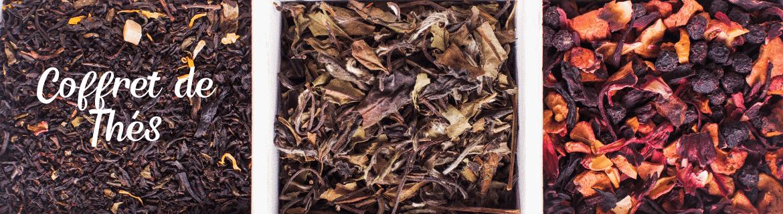 Coffrets de thés