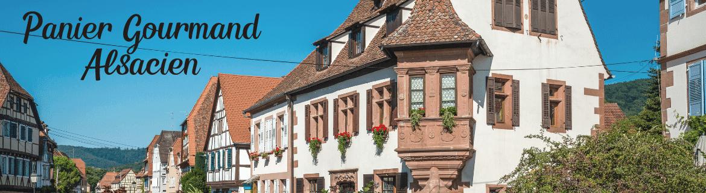 Paniers Garnis Alsaciens- Panier Cadeau Gourmand d'Alsace