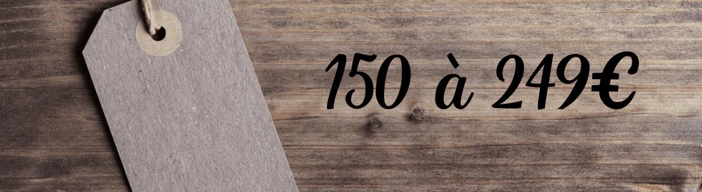 Paniers gourmands 150€ à 249€