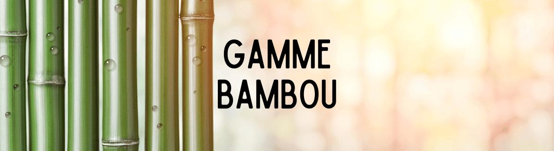 Les paniers en toile de jute et bambou