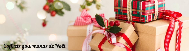Coffrets gourmands de Noël
