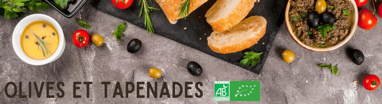 Olives et tapenades Bio - Produits Bio du Terroir