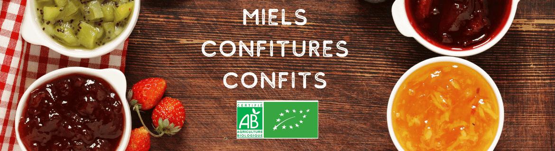 Miels Confitures Confits Bio