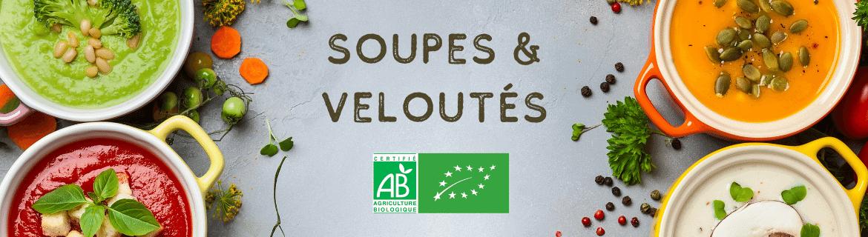 Soupes et veloutés bio - Produits épicerie fine bio