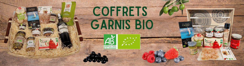 Coffrets Garnis Bio