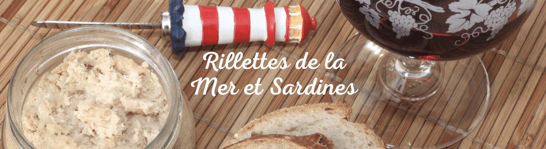 Rillettes Bretonnes, Sardinade, Mousse de Homard - Produits Régionaux Bretons