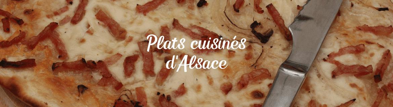 Plats cuisinés d'Alsace