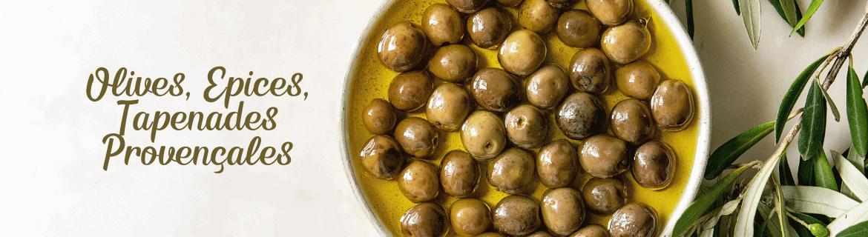 Olives - Epices - Tapenades Provençales