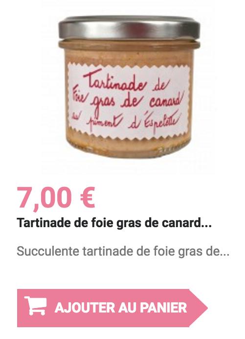 tartinade de foie gras