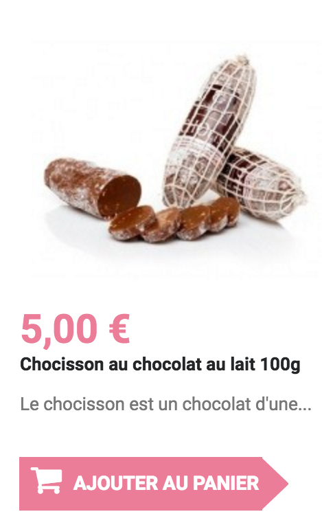 chocisson au chocolat