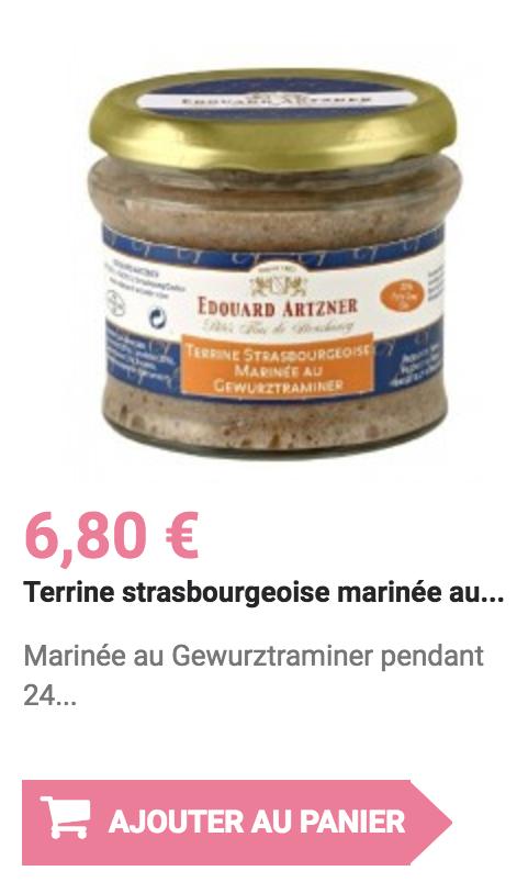 terrine strasbourgeoise